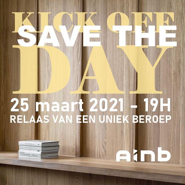 Kick off: save the day / 25 maart 2021 - 19u. Relaas van een uniek beroep